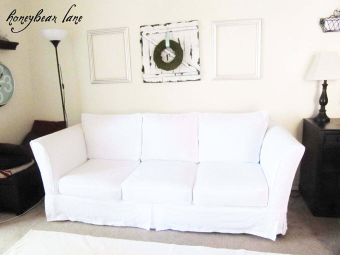 DIY Couch Slipcover