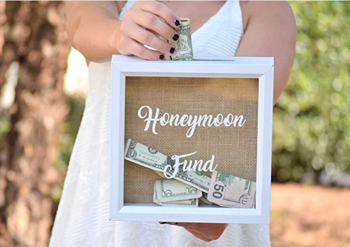Honeymoon Fund Sign Wedding Gift