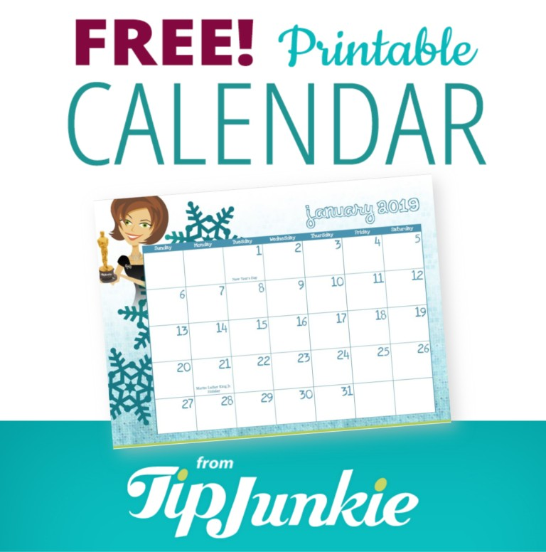 January 2019 Calendar Tip Junkie_main