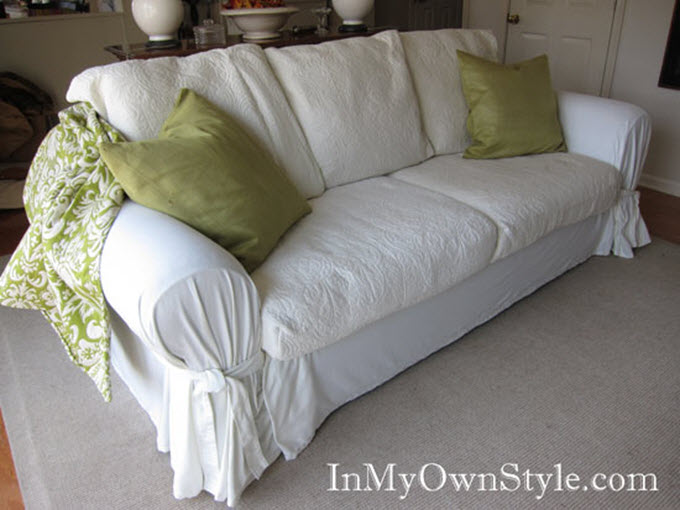 Loose Fit Sofa Slipcover