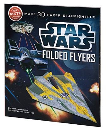 Star Wars Folded Flyers Make 30 Paper Starfighters Craft Kit