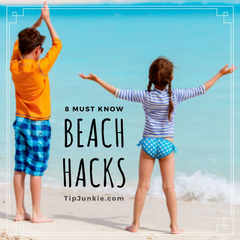 You Won't Believe What We Always Take To The Beach (Beach Hacks)