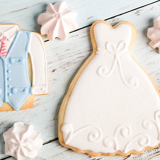 bridal shower gifts cookies