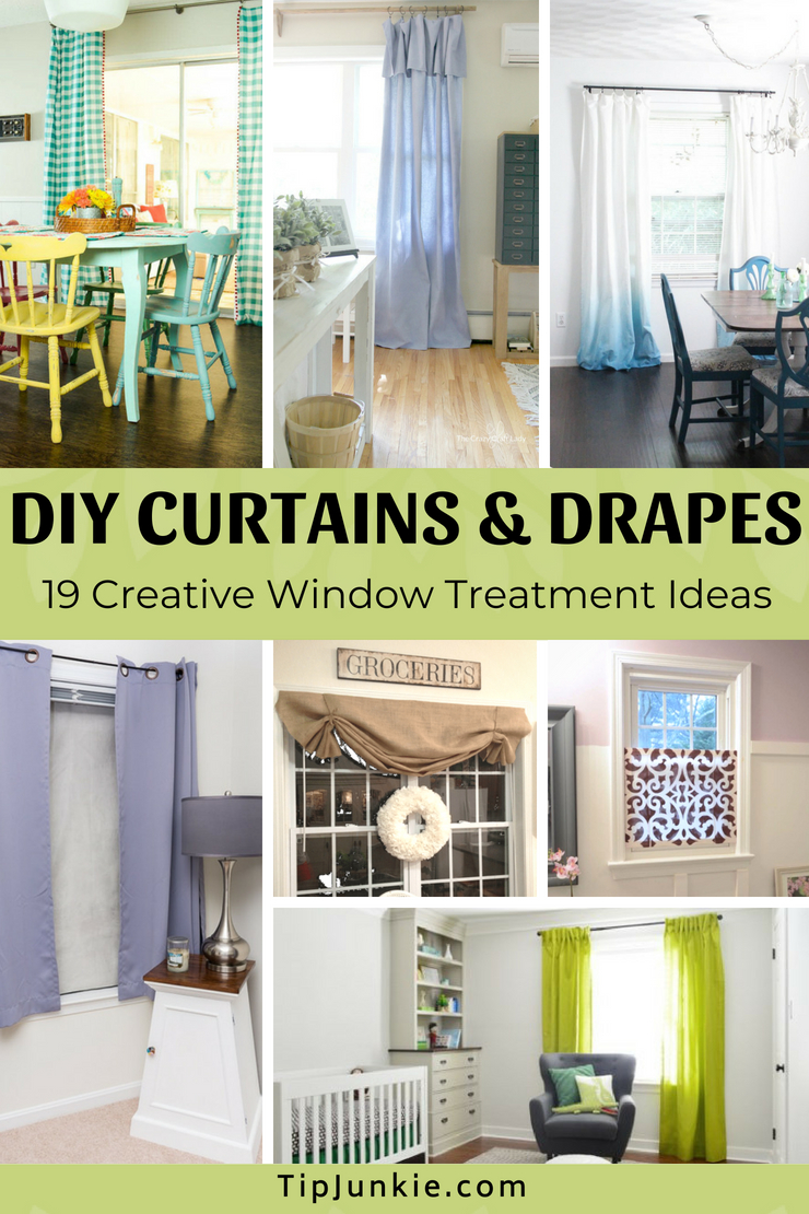 19 Creative Curtains and Drapes to Make