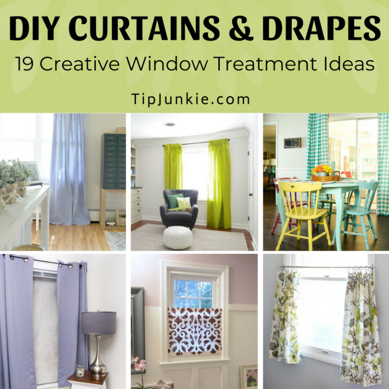 19 Creative Window Treatment Ideas