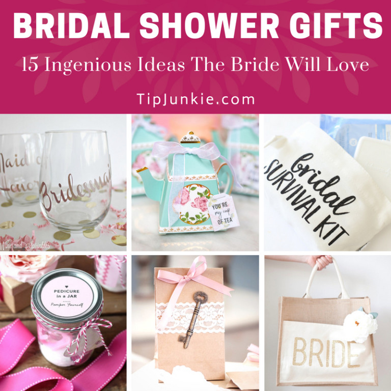 18 Ingenious Bridal Shower Gifts The Bride Will Love Tip Junkie