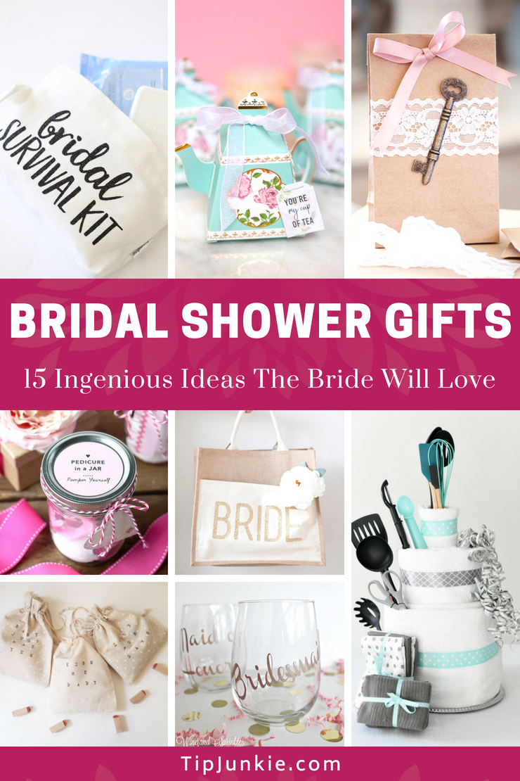 18 Ingenious Bridal Shower Gifts the Bride Will Love | Tip Junkie