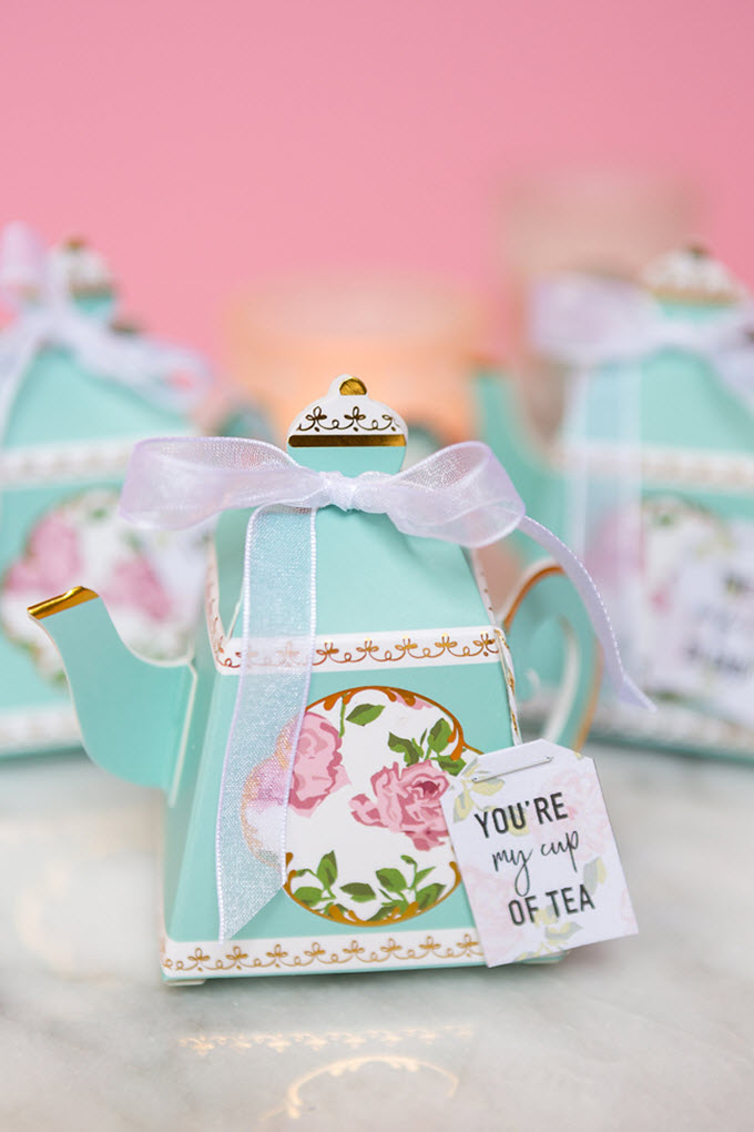 DIY Bridal Shower Tea Bag Favors
