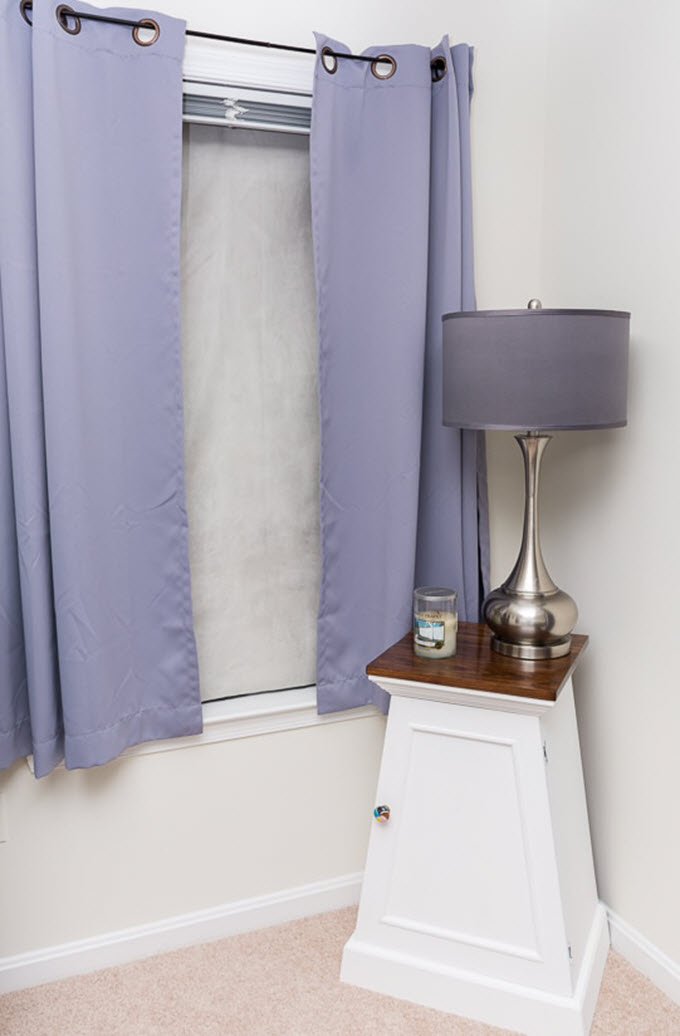 DIY Thermal Insulated Blackout Shades