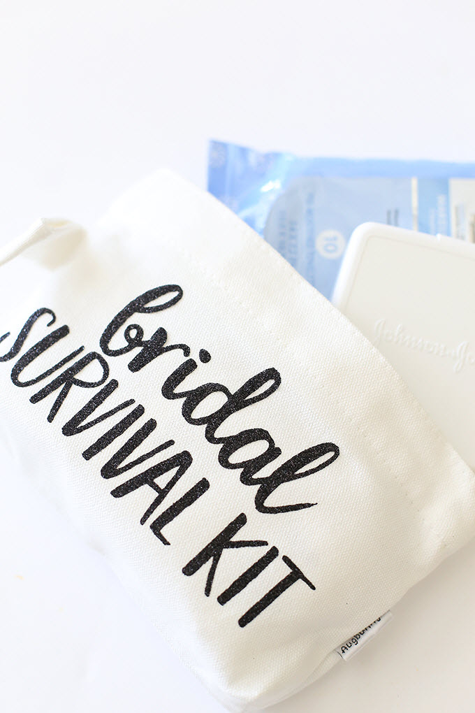 Funny Bridal Survival Kit