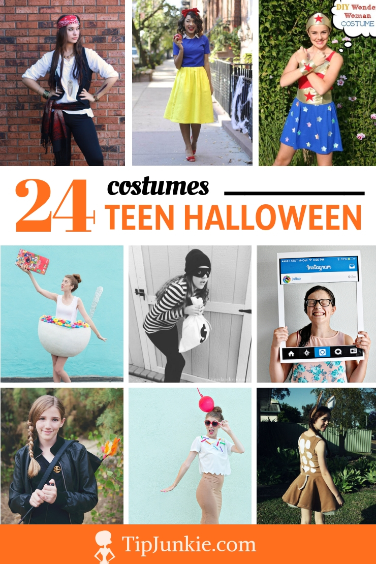 24 Teen Halloween Costumes to DIY