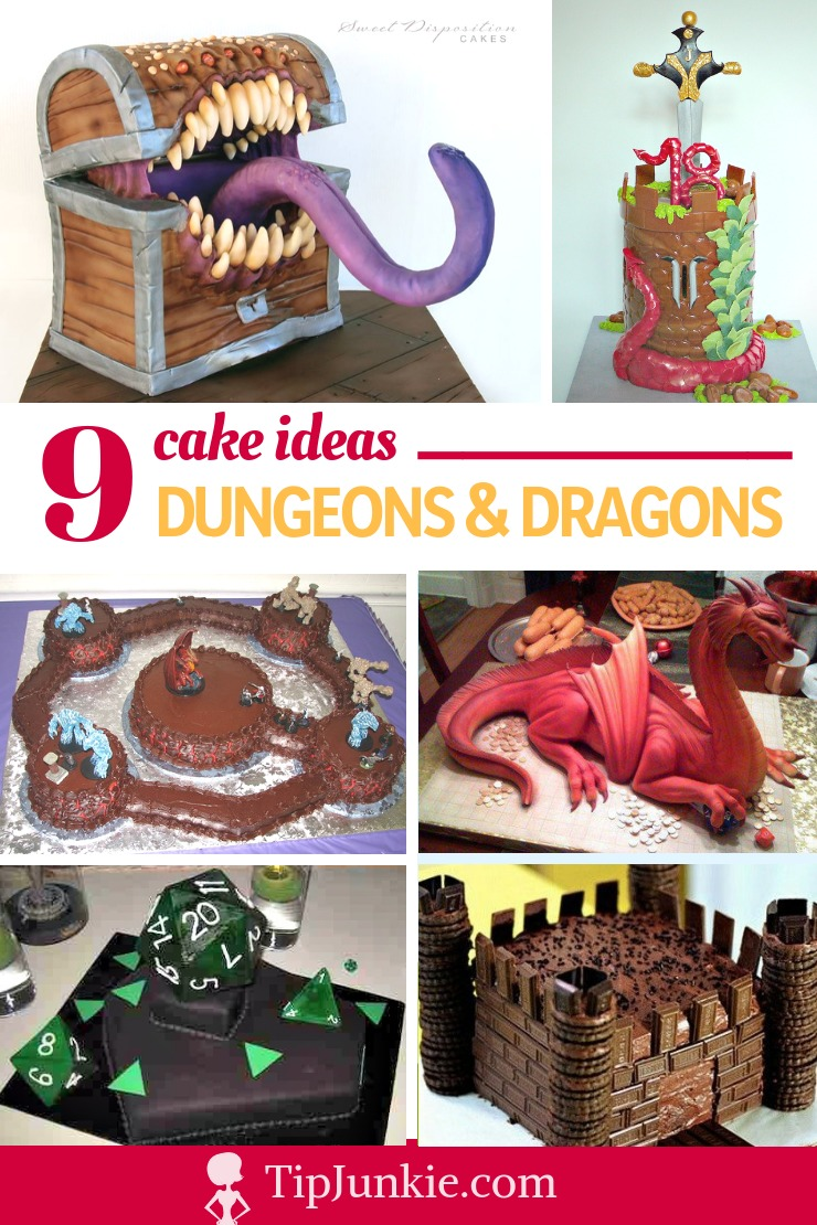 9 Epic Dungeons and Dragons Cakes