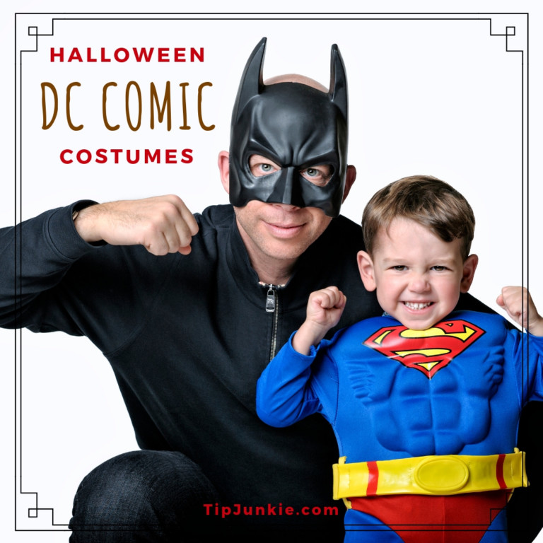 DC Comics Halloween Costume Ideas