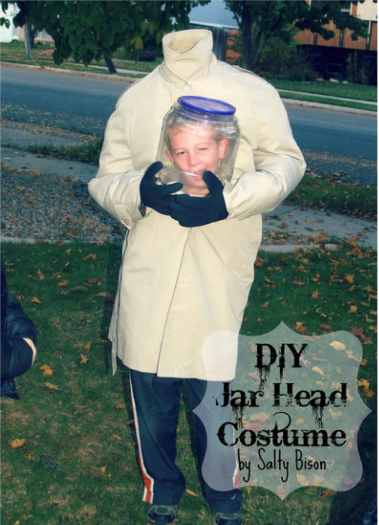 Jar Head DIY Costume for Teen Boys