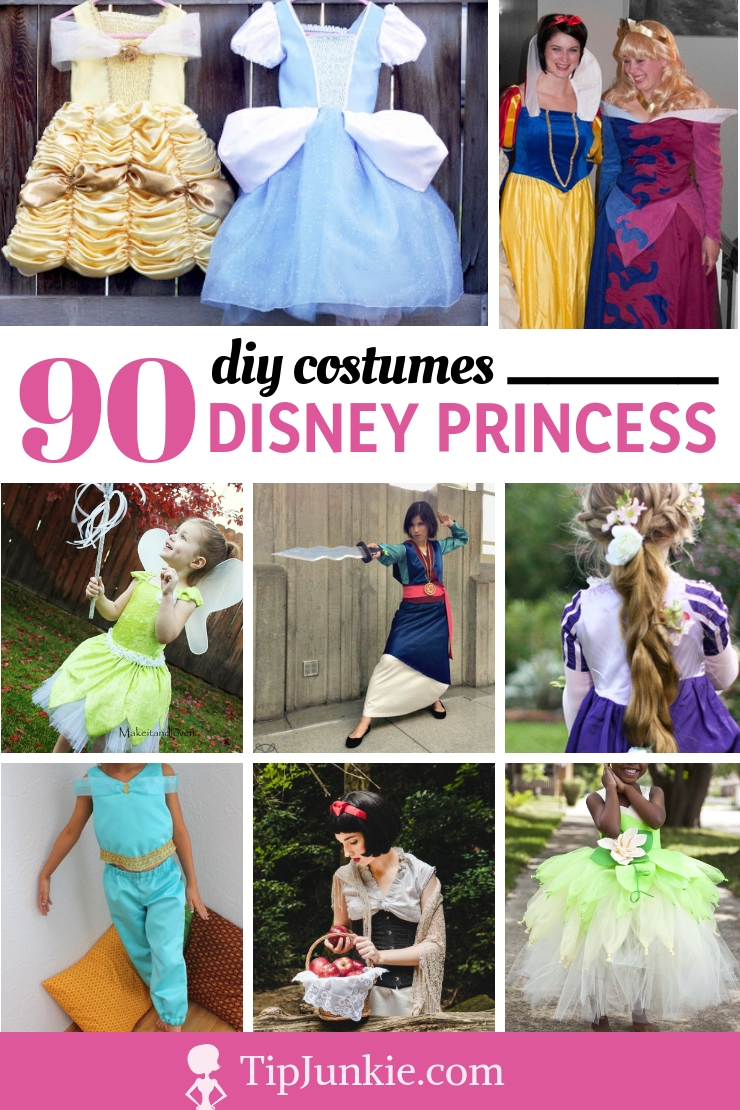 90 DIY Disney Princess Costumes to Make