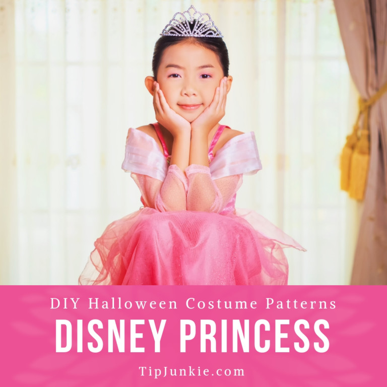 DIY Disney Princess Costumes for Girls to Make