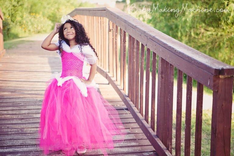 aurora disney princess costume tutu dress tutorial