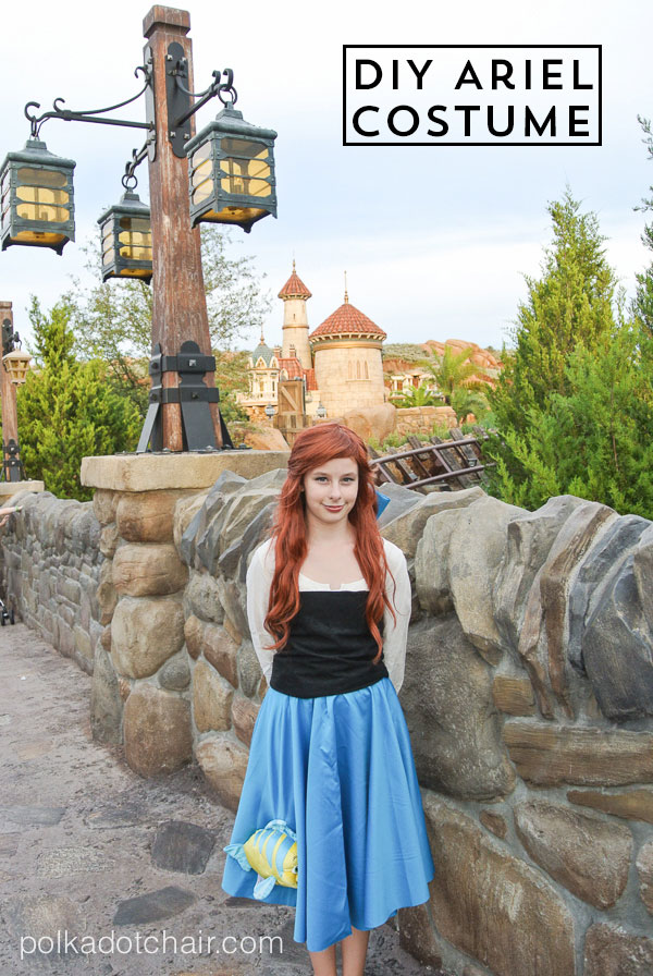 diy ariel costume the little mermaid