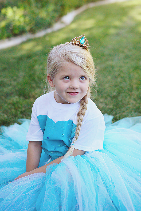 diy no sew elsa costume disney princess costume