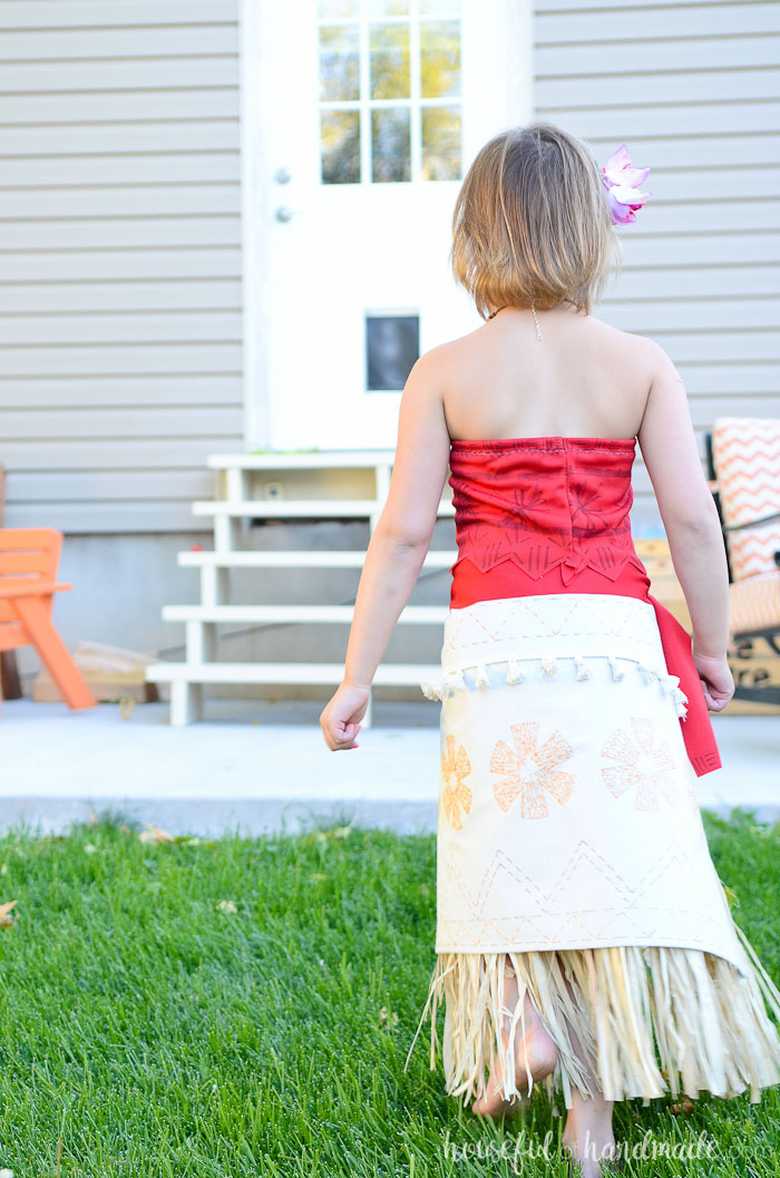 easy diy moana disney princess costume