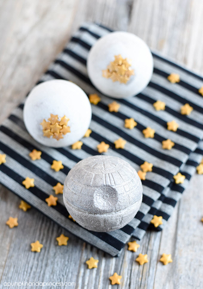 Star Wars Death Star Bath Bomb Recipe