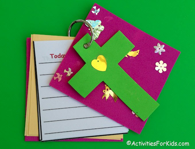 DIY Child's Prayer Journal