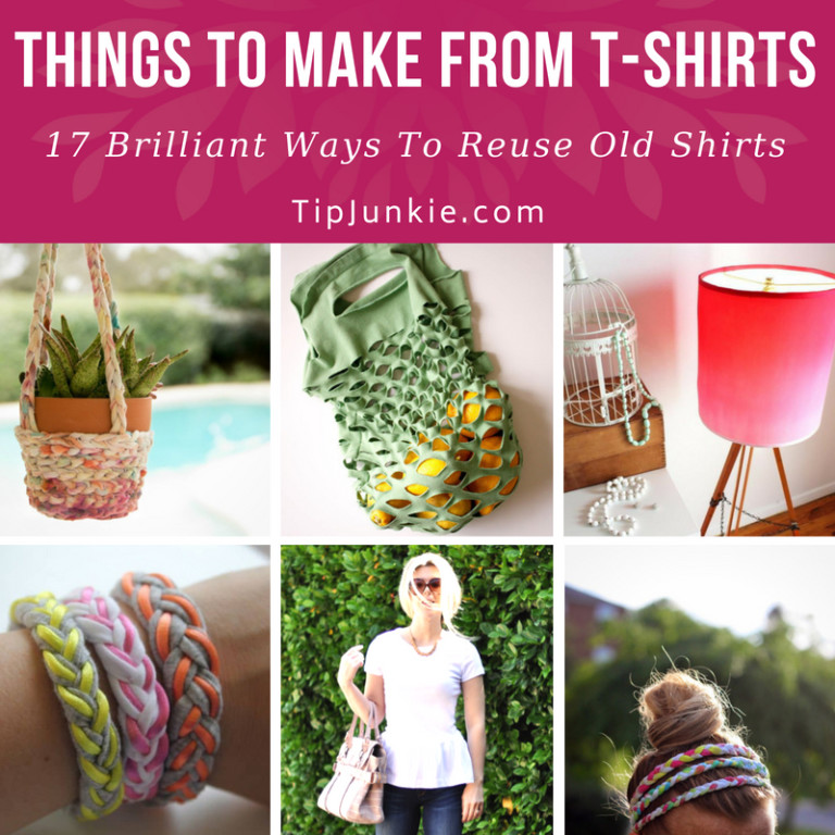17 Brilliant Ways to Upcycle T-shirts
