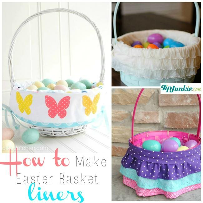 7 Free Basket Liner Patterns to Make on TIp Junkie