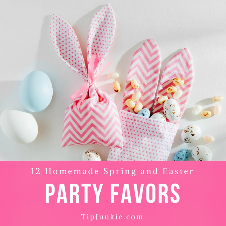 DIY Easter Box Party Favors to Make