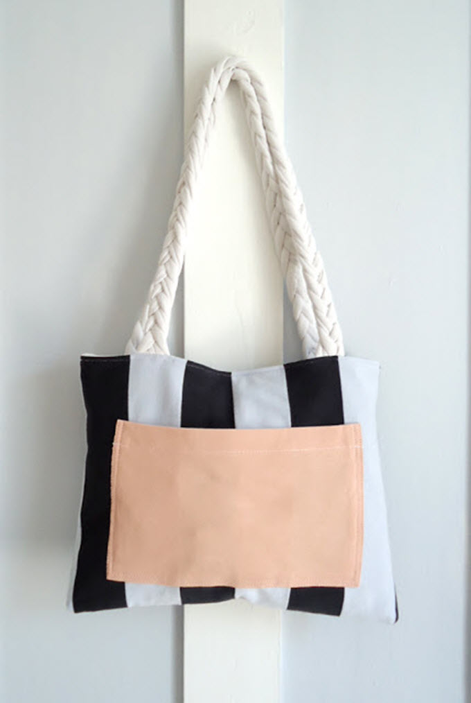 DIY Upcycle T-Shirt Bag