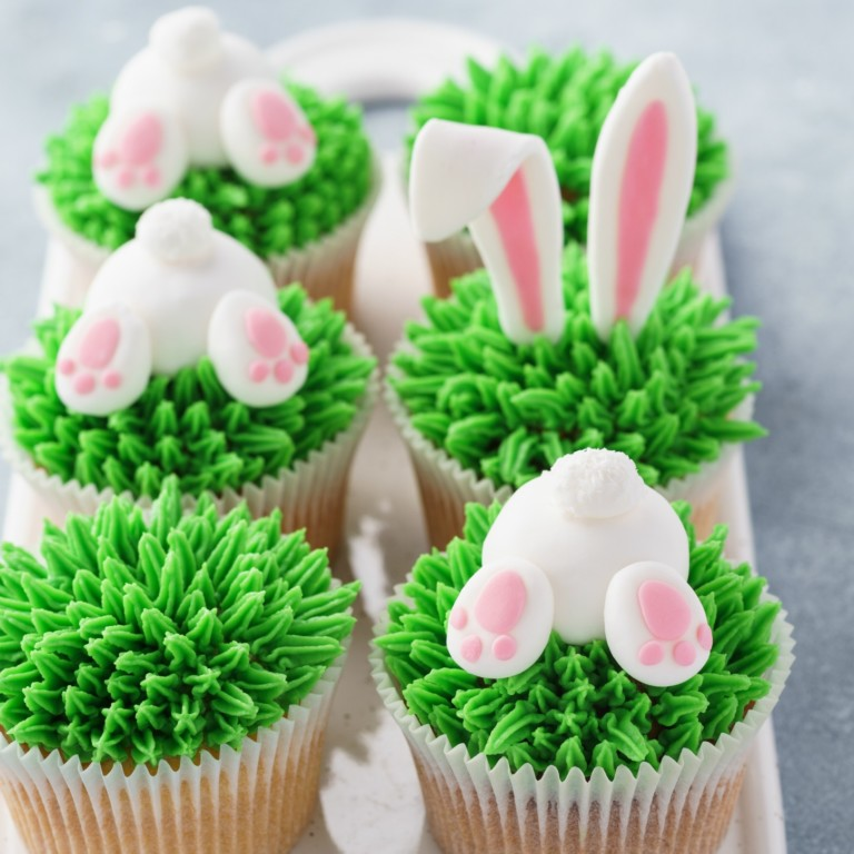 easter dessert cupcakes