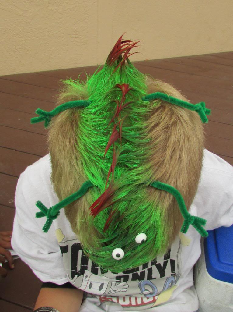 11 Crazy Hair Day Tutorials For Boys Vote Here Tip Junkie