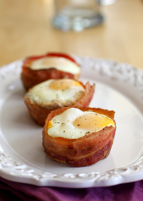 Bacon and Egg Toast Cups Recipe