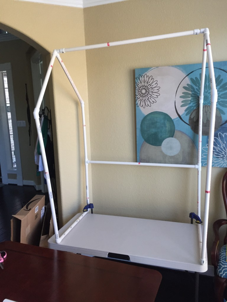 Tiki Bar DIY PVC Pipe for table top