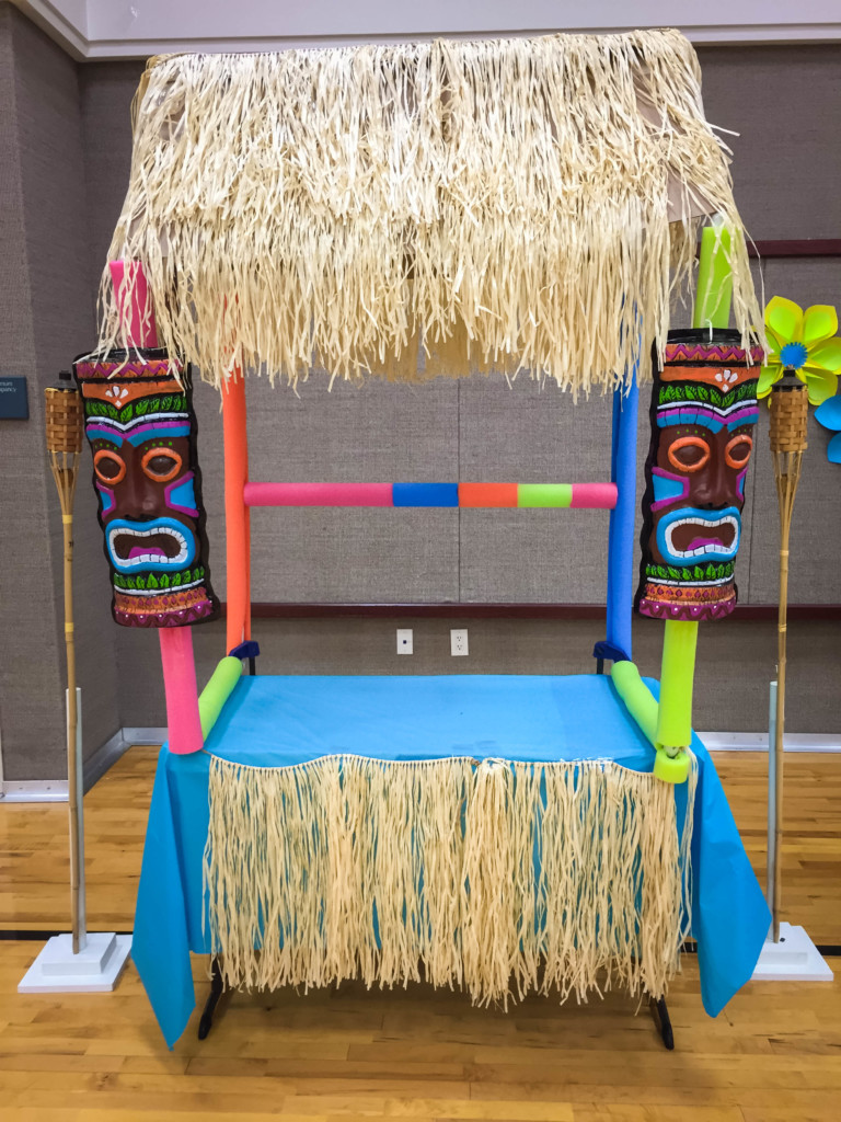 Easy Pvc Pipe Tiki Bar For Your Luau Party Tutorial