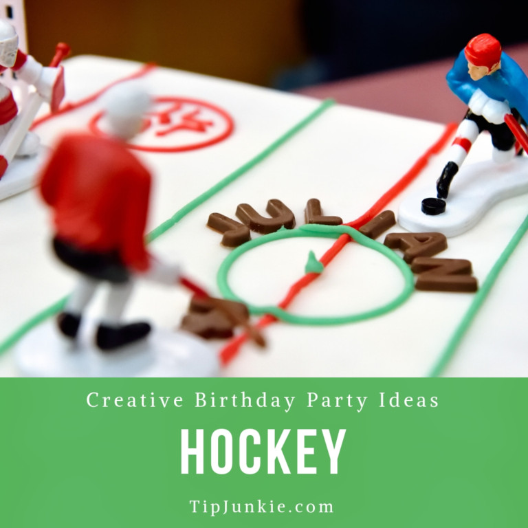 DIY Hockey Birthday Party Ideas for Kids
