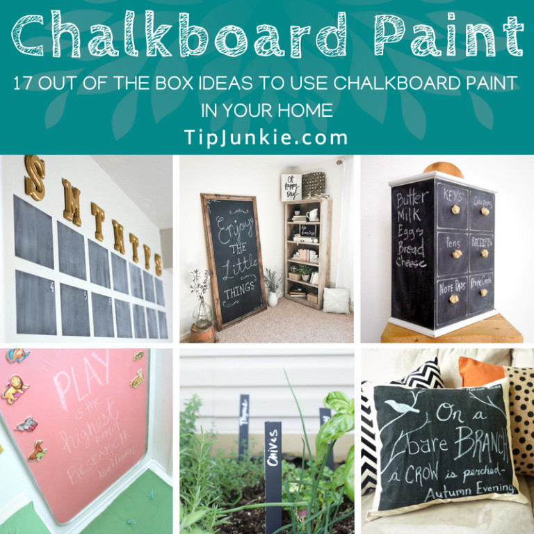 17 Out-of-the-Box Chalkboard Paint Ideas for Your Home