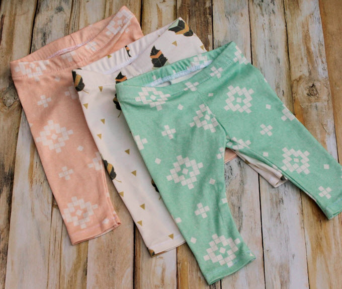 DIY Baby Legging Patterns