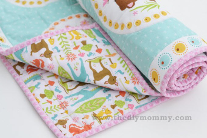 Easy Beginner's Baby Quilt Pattern