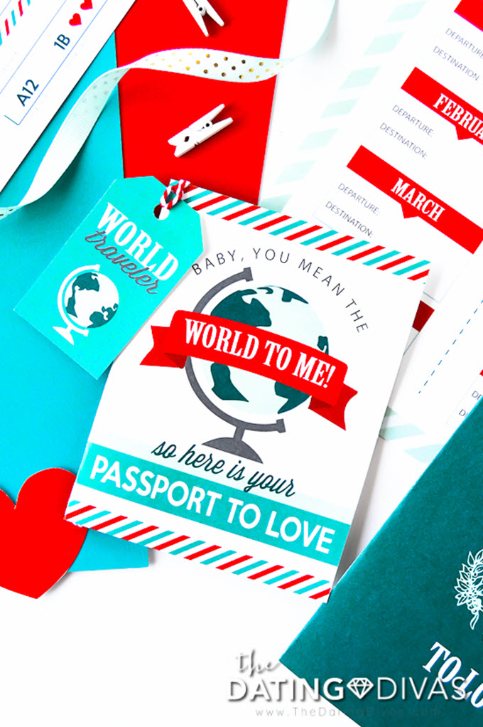 Free Printable Travel Anniversary Gift