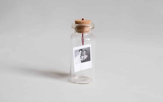 Message In A Bottle Anniversary Gift Idea