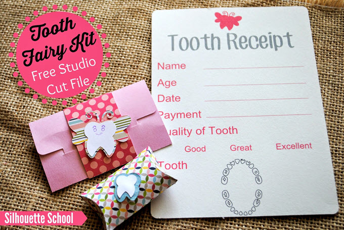 Tooth Fairy Kit Free Tutorial