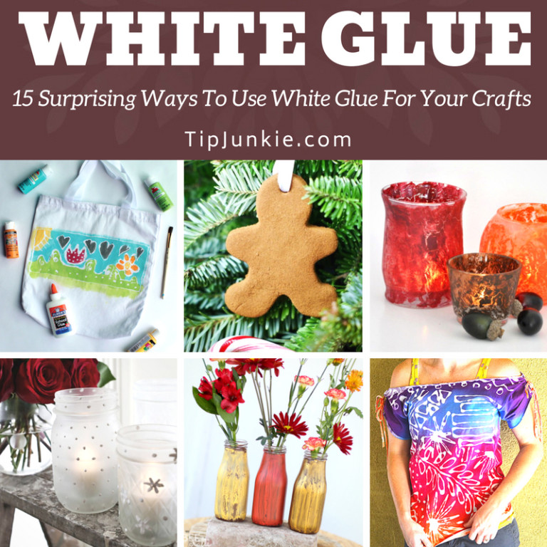 15 Surprising Ways To Use White Glue For Your Crafts