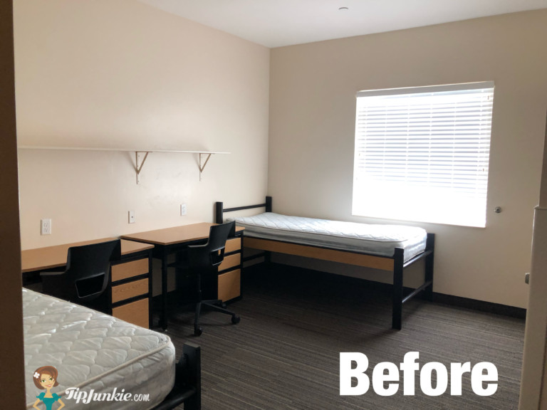 college dorm room ideas for guys at Centre Square BYU Idaho BEFORE