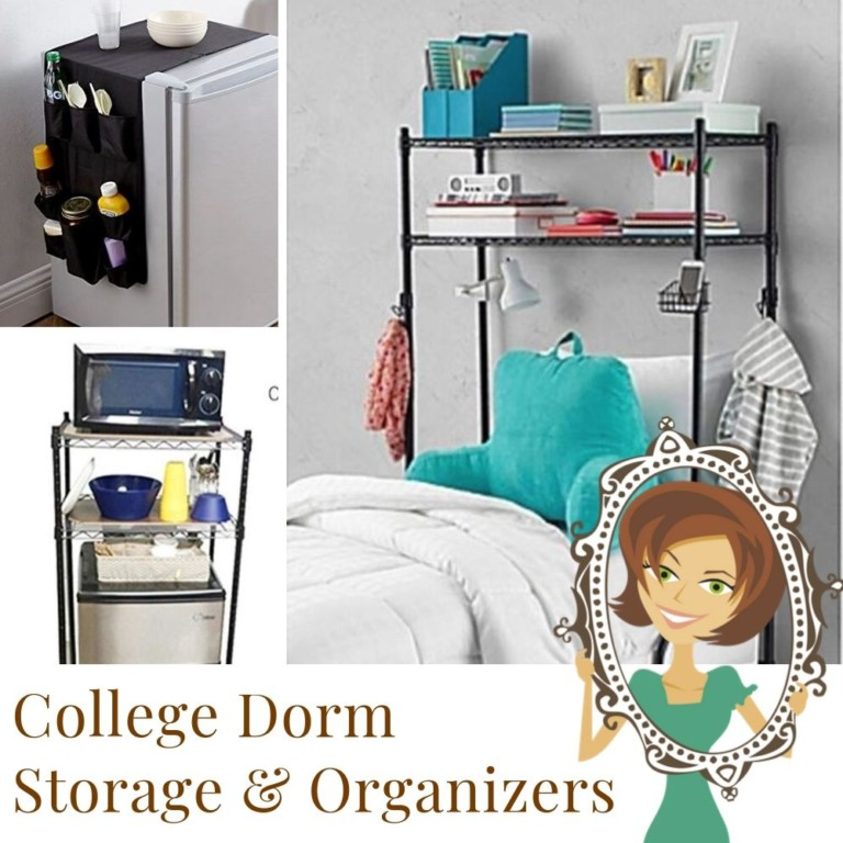 College Dorm Storage and Organizers