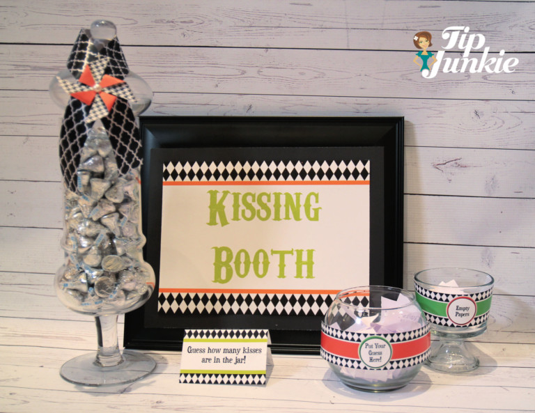 halloween games for kids kissing booth