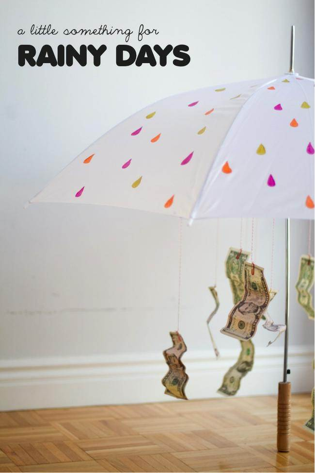 rainy day funds umbrella
