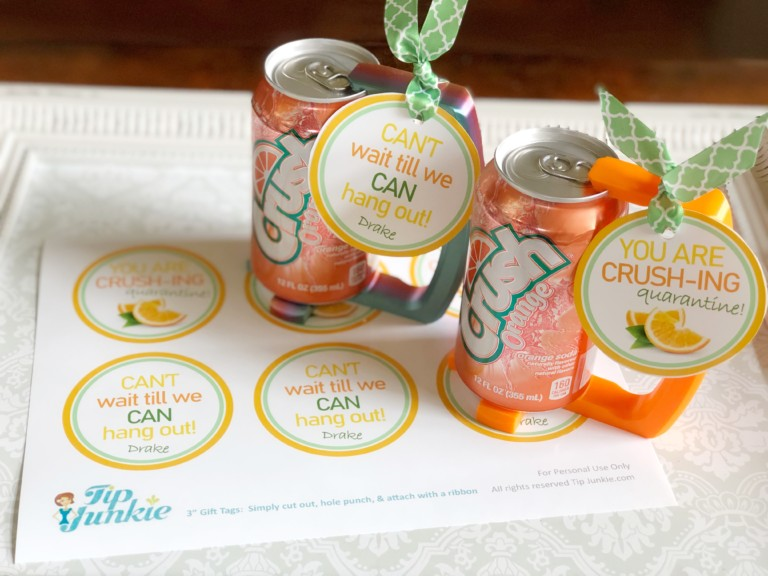 Crush Soda Printable Tag