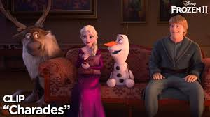 Frozen 2 Charades