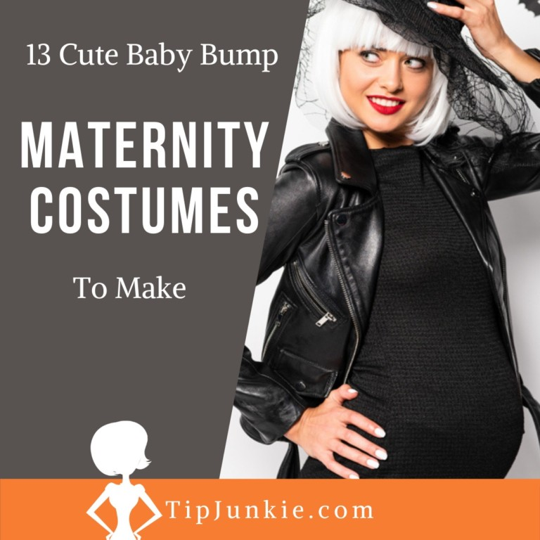 Baby Bump Witch Maternity Costumes